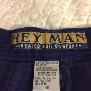 hey man Shorts - Men's Corduroy shorts size 40